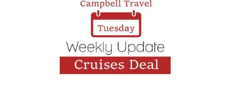 Weekly Cruise Deal (Weekly Tuesday update)