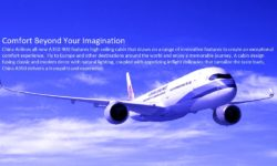 China Airlines Launches A350