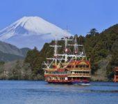 熱門觀光地・・・古都 鎌倉・箱根蘆之湖遊覽船!烤螃蟹・蝦子・干貝・蠑螺等海鮮午餐吃到飽