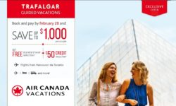 TRAFALGAR GUIDED VACATIONS SAVE UP TO $1000 (BOOK BEFORE FEBRUARY 28)
