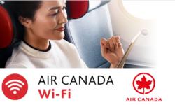 加拿大航空 – WIFI (飛行途中保持聯網)