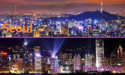 加航 (AC) – 魅力首尔 3 晚 + 香港 5 晚 自由游 (简体版)