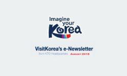 VISITKOREA'S E-NEWSLETTER FROM KTO HEADQUARTERS [SEPTEMBER 2018]
