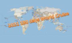 2021 World Cruise 180 日環遊世界郵輪之旅