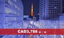 (AC) 皇牌日本本州八天精選遊 (聖誕)