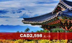 (AC) 韓國首爾、濟州、釜山 8天精彩遊 (2020)