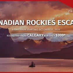 Canadian Rockies Escape (For Canadian Residents Only)