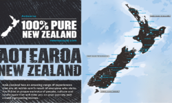 100% PURE ZEALAND MAP