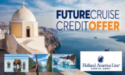 Future Cruise Credit Offer – HAL