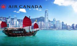 從8月3日起 加拿大航空更新 加拿大和香港之間的航班