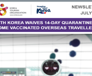 SOUTH KOREA WAIVES 14-DAY QUARANTINE FOR SOME VACCINATED OVERSEAS TRAVELLERS