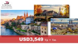 Rhine Getaway – 7 nights Viking River Cruise – Basel to Amsterdam