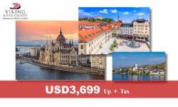 DANUBE WALTZ – 7 nights Viking River Cruise – Budapest to Passau