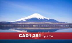 2022 CELEBRITY SOLSTICE – 12 nights Japan Cruise (Sailing from Tokyo to Hong Kong)