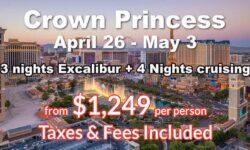 Las Vegas 3 Nights + 4 Nights Cruising