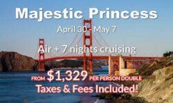 Pacific Coast Air  + 7 Nights Cruising