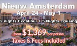 Las Vegas 2 Nights  + 5 Nights Cruising