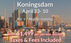 San Diego Air  + 7 Nights Cruising